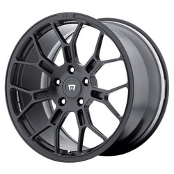 Motegi Wheels MR130 Techno Mesh - Satin Black Rim - 22x11