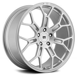 Motegi Wheels MR130 Techno Mesh - Silver Rim - 19x8.5