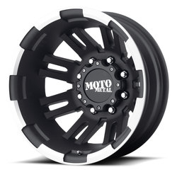 Moto Metal Wheels MO963 - Matte Black Machined Rim - 16x6