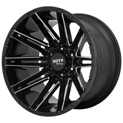 Moto Metal Wheels MO998 KRAKEN - Gloss Black Milled Rim - 22x10