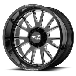 Moto Metal Wheels MO401 - Gloss Black Milled - 22x14