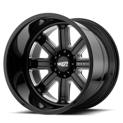 Moto Metal Wheels MO402 - Gloss Black Milled - 22x12