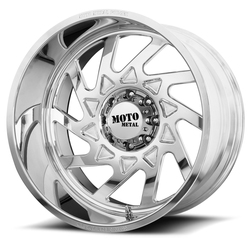 Moto Metal Wheels MO403 - Polished Rim - 24x12