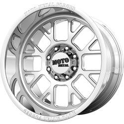 Moto Metal Wheels MO404 - Polished Rim