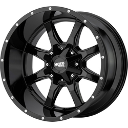Moto Metal Wheels Moto Metal Wheels MO970 - Gloss Black/Milled Lip - 20x10