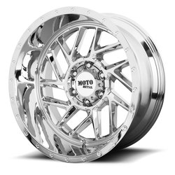 Moto Metal Wheels MO985 Breakout - Chrome Rim - 22x10