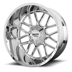 Moto Metal Wheels MO986 Siege - Chrome Rim - 22x10