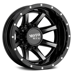 Moto Metal Wheels MO995 Dually Rear - Gloss Black Machined Rim