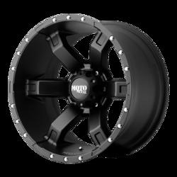 Moto Metal Wheels MO967 - Satin Black With Clearcoat Rim