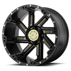 Moto Metal Wheels MO979 Buckshot - Satin Black w/Gun Metal Inserts - 22x12