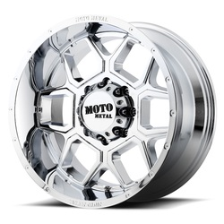 Moto Metal Wheels MO981 Spade - Chrome - 22x12