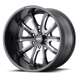 Moto Metal Wheels MO983 Dagger - Satin Gray Milled Rim - 20x9