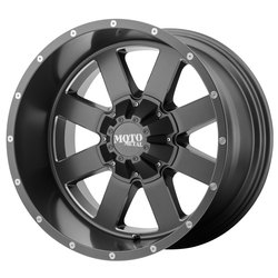 Moto Metal Wheels MO962 - Satin Gray w/Milled Accents - 22x14