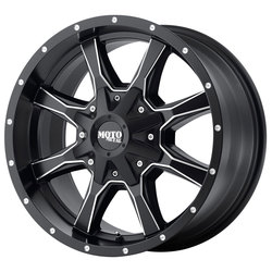 Moto Metal Wheels MO970 - Satin Black Milled Rim - 20x12