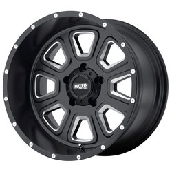 Moto Metal Wheels MO972 - Satin Black Milled