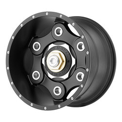Moto Metal Wheels Moto Metal Wheels MO977 Link - Satin Black - 17x9