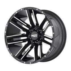 Moto Metal Wheels MO978 Razor - Satin Black Machined - 22x12