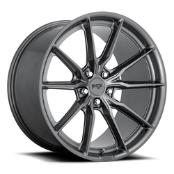 Niche Wheels M239 Rainier - Matte Anthracite Rim - 22x10.5