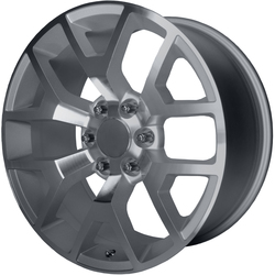 OE Creations Wheels OE Creations Wheels PR150 - Silver w/Machined Face