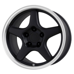 OE Creations Wheels 103 - Gloss Black/Machined Lip Rim