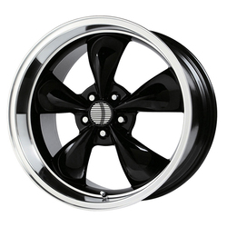 OE Creations Wheels 106 - Gloss Black/Machined Lip Rim