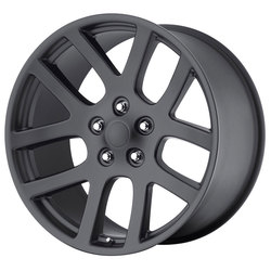 OE Creations Wheels 107 - Matte Black Rim