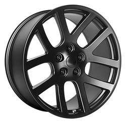 OE Creations Wheels 107 - Semi Gloss Black Rim