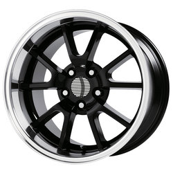 OE Creations Wheels 118 - Gloss Black/Machined Lip Rim