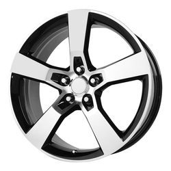 OE Creations Wheels 125 - Gloss Black Machined Rim