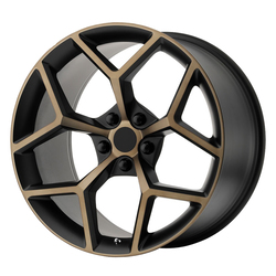 OE Creations Wheels 126 - Black/Bronze Rim