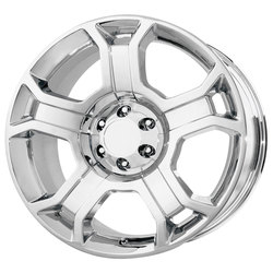 OE Creations Wheels 127 - Chrome Rim