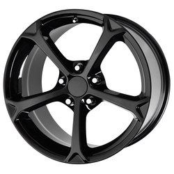 OE Creations Wheels 130 - Gloss Black Rim - 19x12