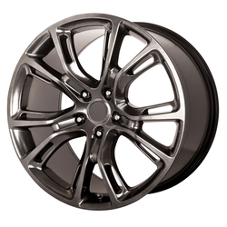 OE Creations Wheels PR137 - Hyper Silver Dark Rim