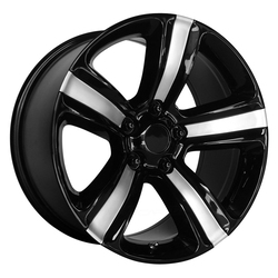 OE Creations Wheels PR155 - Gloss Black Machined Rim