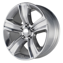 OE Creations Wheels 155 - Silver w/Polished Accents Rim