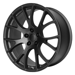 OE Creations Wheels 161 - Matte Black Rim - 22x11