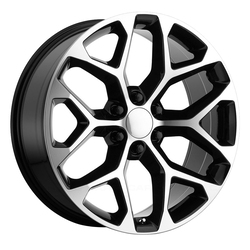 OE Creations Wheels OE Creations Wheels 176 - Gloss Black Machined