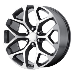 OE Creations Wheels 176 - Gunmetal Machined Rim