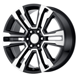 OE Creations Wheels 182 - Gloss Black Machined - 22x7