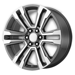 OE Creations Wheels 182 - Gunmetal Machined - 22x7