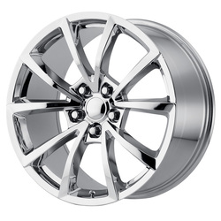 OE Creations Wheels 184 - Hyper Silver Dark Rim