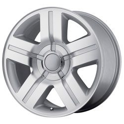 OE Creations Wheels 147 - Silver Machined Rim - 26x10