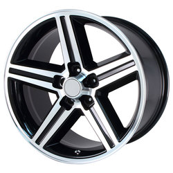 OE Creations Wheels 148 - Gloss Black Machined Rim