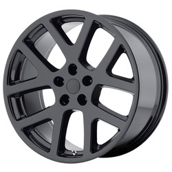 OE Creations Wheels PR149 - Gloss Black With Clearcoat Rim