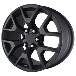OE Creations Wheels PR150 - Matte Black Rim