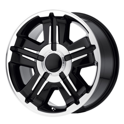 OE Creations Wheels PR173 - Gloss Black Machined Rim