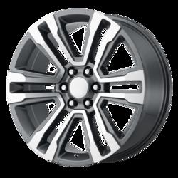 OE Creations Wheels PR182 - Gunmetal Machined Rim - 26x10