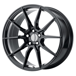 OE Creations Wheels PR193 - Gloss Black w/Machined Underd Cut Rim