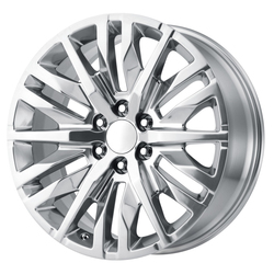 OE Creations Wheels PR198 - Polished w/Clear Coated Rim