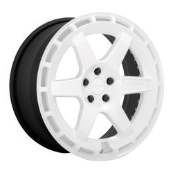Rotiform Wheels KB1 R183 - Gloss White Rim - 19x8.5